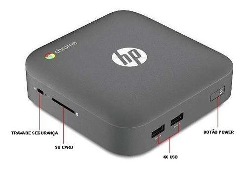mini pc hp chromebox nuc intel i7 4gb sd 16gb m2 wifi leia