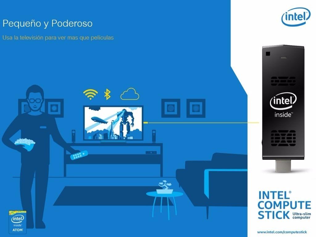 Mini Pc Intel Compute Stick Windows 81 Boxdstck1a32wfc