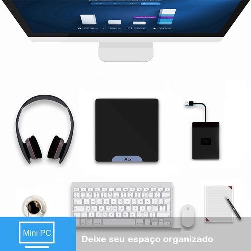 mini pc midia indoor intel z8350 2gb ram hd 32gb win10br