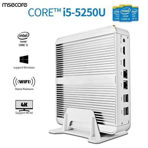mini pc servidor mikro portable i5 hdd500gb,16gram, 2x rj-45