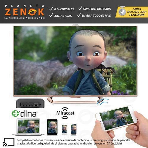 mini pc smart tv box 4k full hd wifi hdmi netflix android 8g