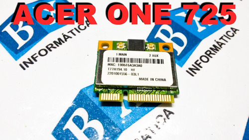 mini pci wireless acer one 725 brcm1050i
