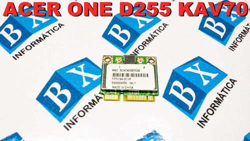 mini pci wireless bcm94313hmg2l acer one d255 kav70