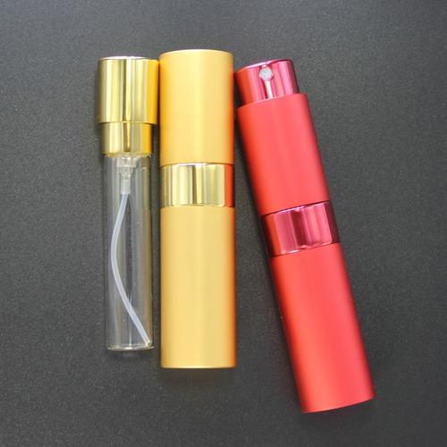 mini perfumero recargable 8ml a rosca porta perfume locion