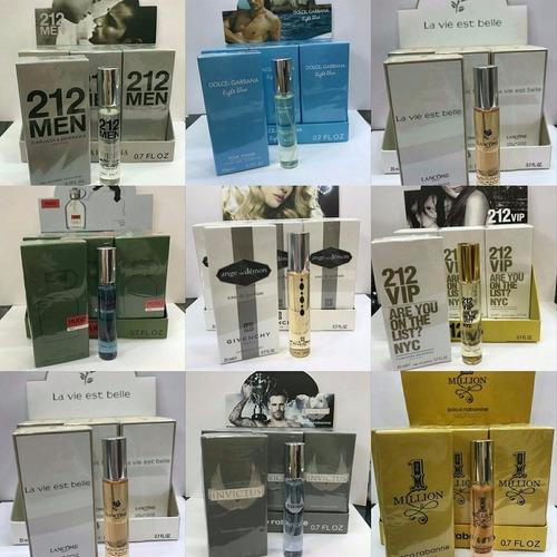 mini perfumes cartera dama caballero economicos somos tienda