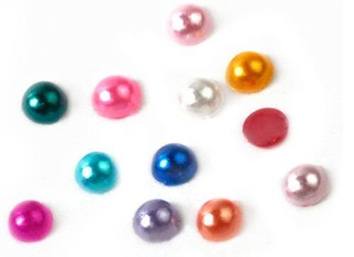 mini pérolas strass para unhas - pedraria decoração unhas