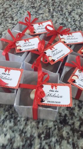 mini pães de mel recheados - 30 unidades - r$ 110,00