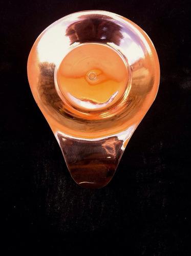 mini petisqueira em cobre