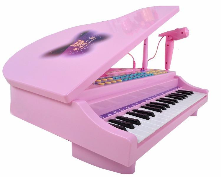 Musical 88022 Piano Luces Niños Juguete Mini Negro AqSjc5R34L