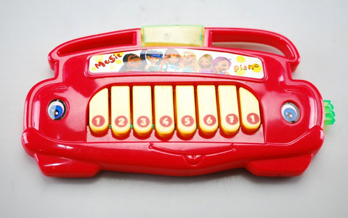 mini piano para niño bebé juguete musical sonajero luz nuevo
