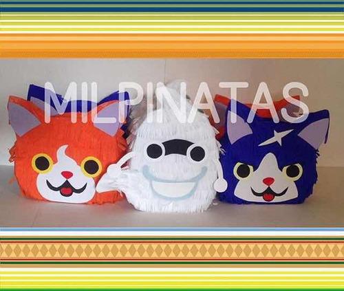 mini piñatas unicornio, pony,cars, piñatas,cotillones