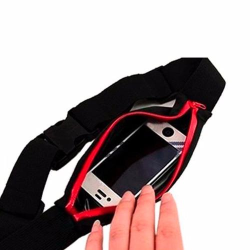 mini pochete corrida sport cinto celular smartphone document