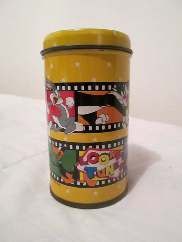 mini portalapiz con tapa looney tunes - warner bros