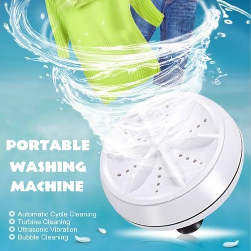 mini portátil ultrasónico turbo lavadora personal de la la