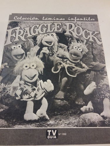 mini poster fraggle rock