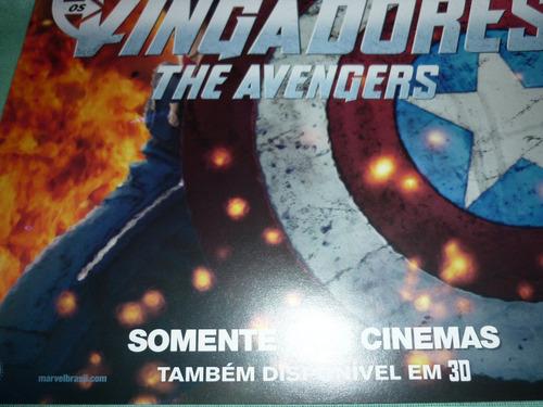 mini-poster original do filme os vingadores / versão 1