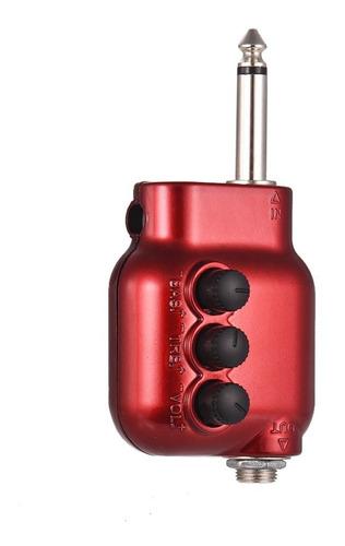 mini preamplificador preamp 6,35 mm enchufe con bajo triple