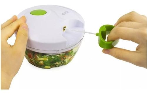 mini processador de alimentos manual triturador alho