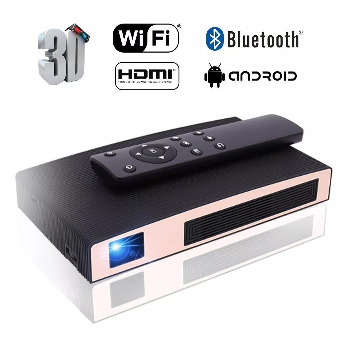 Mini Projector, Motou Dlp Portable Video Led 1080p