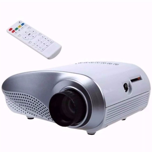 mini projetor led lcd portátil 100 polegadas- pronta entrega