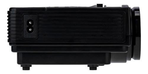 mini projetor led portatil betec - 1200 lumens - bluetooth
