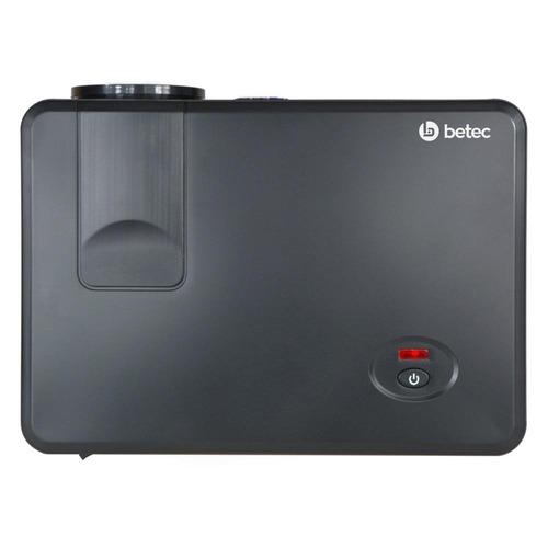 mini projetor led portatil betec 1200 lumens pronta entrega