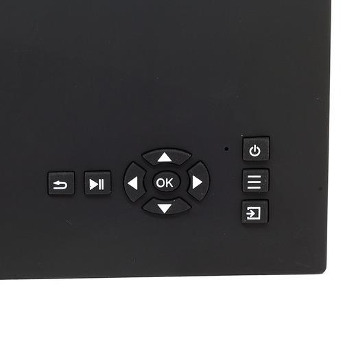 mini projetor led profissional 1200 lumen wifi uc46 s/ juros