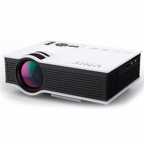 mini projetor led uc40 portatil hdmi usb 1080p usb mod 2019