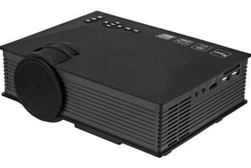 mini projetor led uc46 hdmi wifi vga  ate 130 polegadas