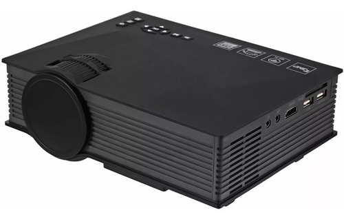 mini projetor led uc46 wifi 1200 lumens unic hdmi android