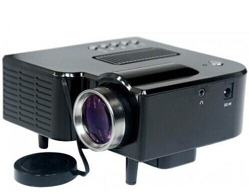 mini projetor pol hdmi c/controle usb sd av vga frete grátis
