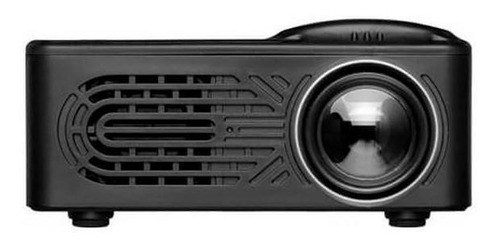 mini projetor portátil 1080p hd led 12v infokit - wd-814