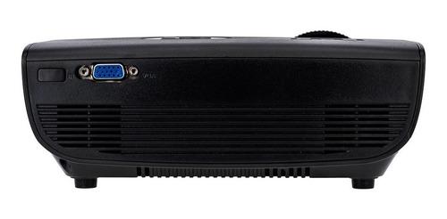 mini projetor portatil led - 1600 lumens - betec brasil