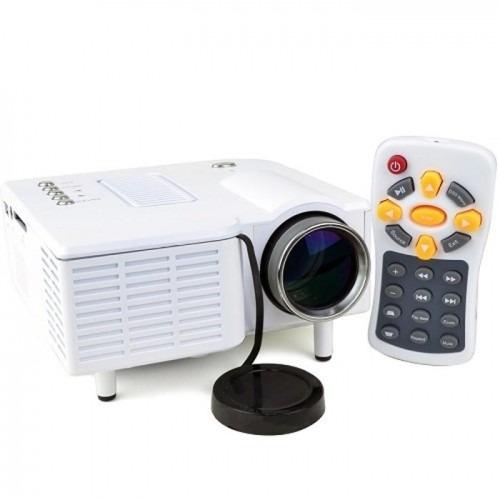 mini projetor portatil led 1920x1080 60pol usb/sd/hdmi h80