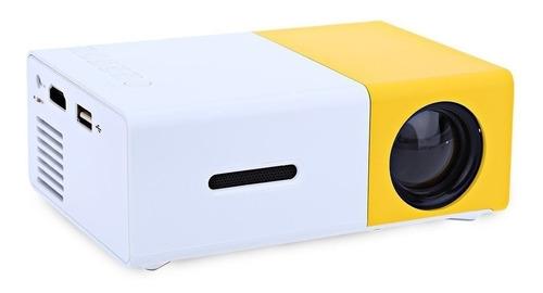 mini projetor portátil led 600 lumens full hd 1080p av hdmi