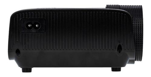 mini projetor portatil led betec - 1600 lumens - datashow