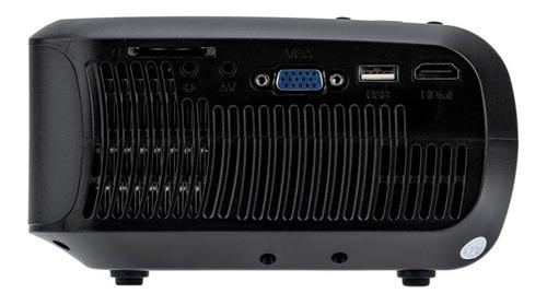 mini projetor portatil led - hd - 2200 lumens - betec bt728