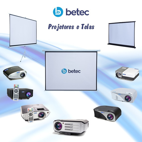 mini projetor portátil multimidia 800 lumens - betec brasil
