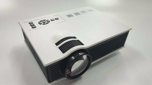 mini projetor portatil uc40 led hdmi 1080p 800 lumens unic