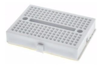 mini protoboard 170 pontos pic, arduino - varias cores