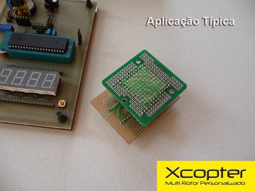 mini protoboard para smd tqfp44