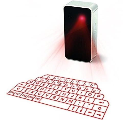 mini proyección inalámbrica bluetooth laser keyboard para te