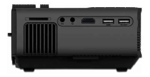 mini proyector 1080hd funcion espejo android/ios negro