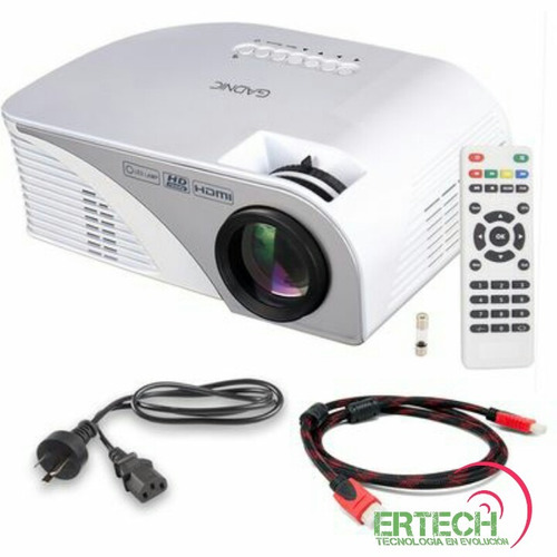 mini proyector led 1200l