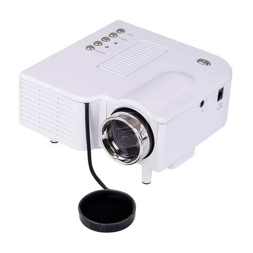 mini proyector led 3d av vga hdmi usb brillo 48 lumens 80''