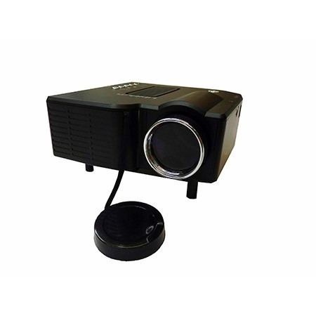 mini proyector led hd 40 lumenes portatil kaleidos star view