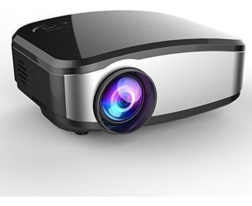 mini proyector led hd portátil - mengshen 1080p 1200 lúmenes