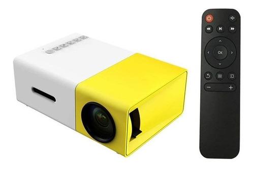 mini proyector led portatil 600lm 1080p video 320x240 pixel