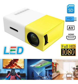 Mini Proyector Led Videobeam De 600 Lumens Hdmi Vga Rca Usb