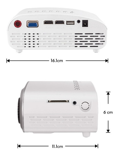 mini-proyector multimedia portátil | pro-100